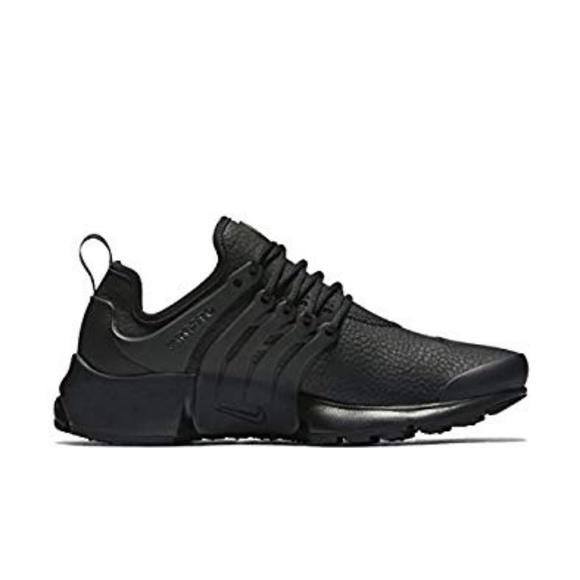 32658804ca1f Nike Air Presto PRM black leather. M 5b499654619745d16405d991
